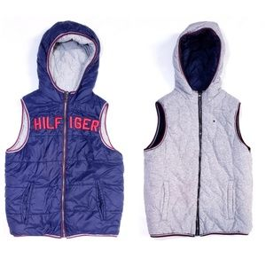 Tommy Hilfiger Reversible Kid Hooded Puffy Vest
